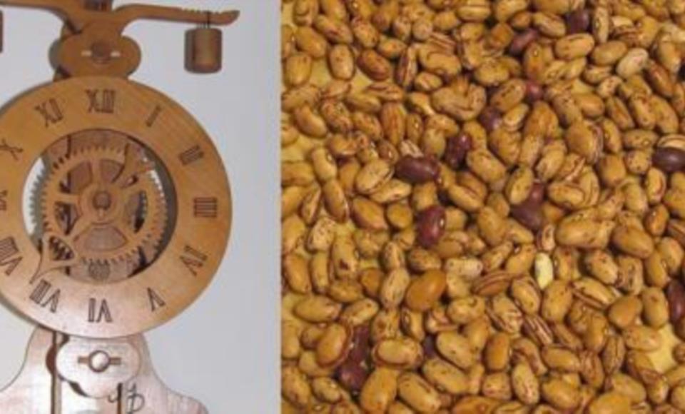 Orologio e fagioli