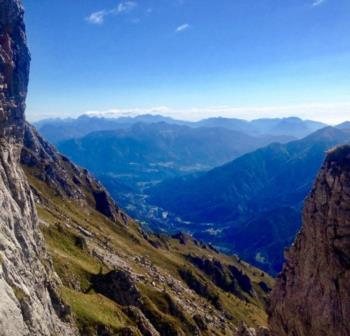 Val Degano dalla Val Pesarina