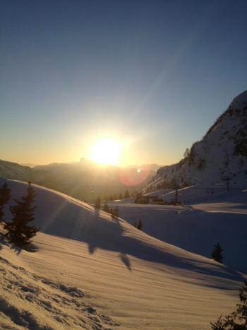 Tramonto sul Monte Zoncolan