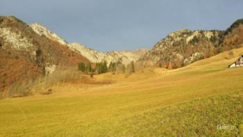 Colline di Pani in autunno